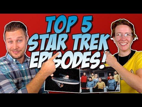 Top 5 Star Trek: The Original Series (TOS) Episodes Ranked!