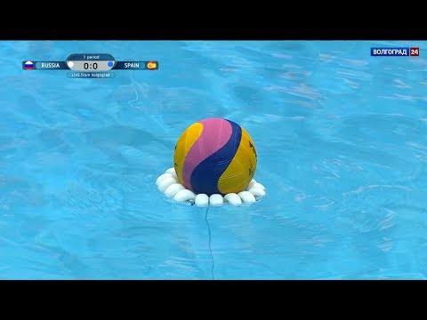 Водное поло. Мировая Лига. Женщины. Квалификация. Россия - Испания. 03.11.2018