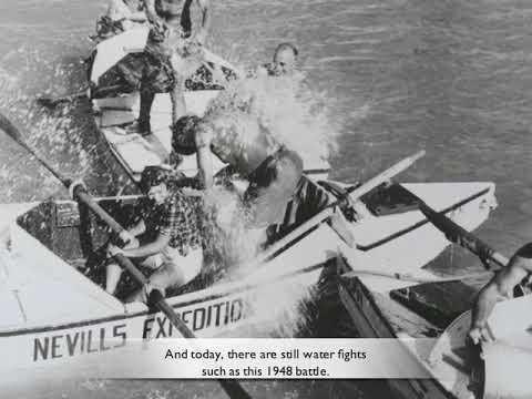 Whitewater Rafting History