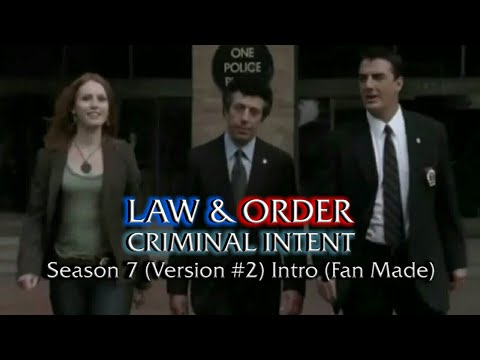 Law & Order: Criminal Intent: Season 7 (Version #2) Intro (Fan Made)