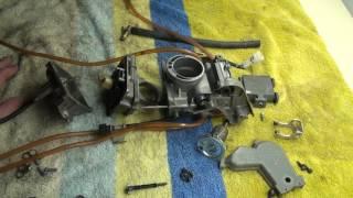 10. Kx250f 2008 Carburetor