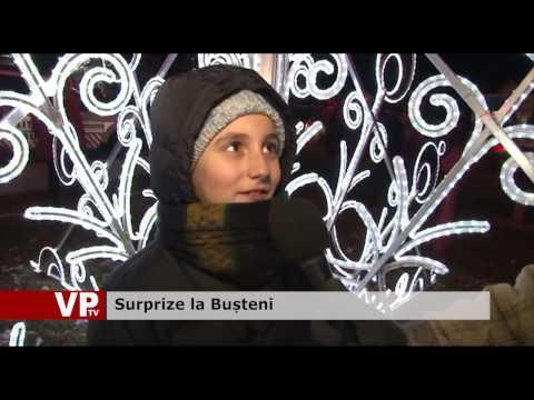 Surprize la Bușteni
