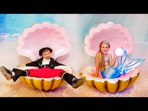 Diana Vira a Pequena Sereia como a princesa Ariel, da Disney