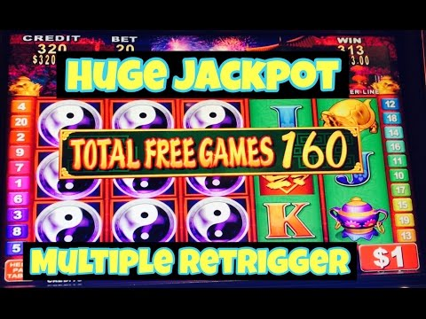★ 230 SPINS HUGE JACKPOT HANDPAY ★ CHINA SHORES HIGH LIMIT SLOT MACHINE BIG HANDPAY RETRIGGER KONAMI