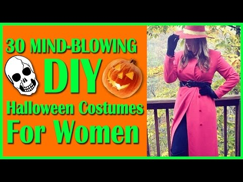 blowing - Here at PSGG, we know that coming up with a costume idea can be difficult - so much pressure! Here are 30 ideas that you can DIY yourself for the big holiday this year. Have some great ideas...