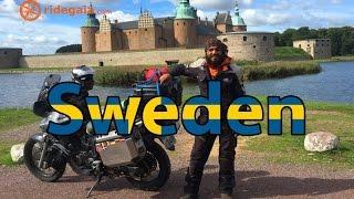 Ep 22 - Sweden - Motorcycle Trip around Europe