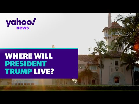 Where is President Trump going to live? | Yahoo News Explains