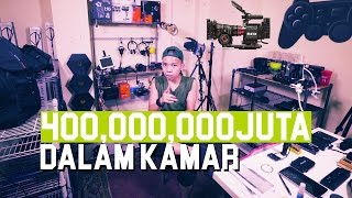 Video 400jt DALAM KAMAR #SOMBONGTINGKATDEWA - Room Tour + Q&A MP3, 3GP, MP4, WEBM, AVI, FLV Oktober 2018