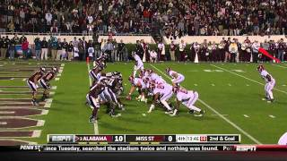 Trent Richardson vs Mississippi State 2011