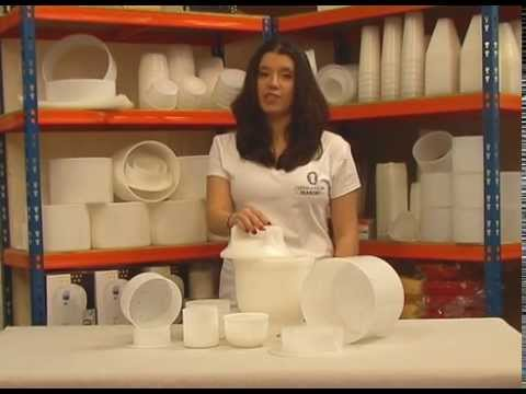 Cheese Making Mold- Extra Large Giant Mold with Follower