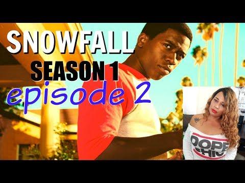 Snowfall FX Review and Recap  Season 1 Episode 2  Talisa Rae