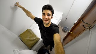 Living Cheap   Tiny Nyc Hotel Tour   30 Night