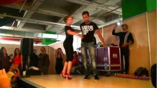 AFRICAN JET♥ Salsa Workshop ♥ Ist. Int.Dance Fest. 2011