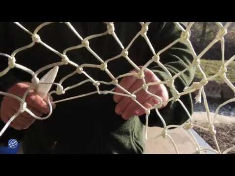 Comment faire - à la main - un filet pour une épuisette