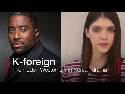 K-foreign: The hidden Westerners in Korean drama - BBC News
