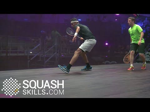 Squash tips: Key aspects of holding the ball