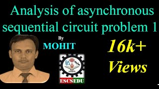 DLD 103: Analysis of asynchronous sequential circuit problem 1