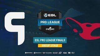 Ghost vs mousesports  - ESL Pro League S8 Finals - bo1 - de_train [Gromjkee & pchelkin]