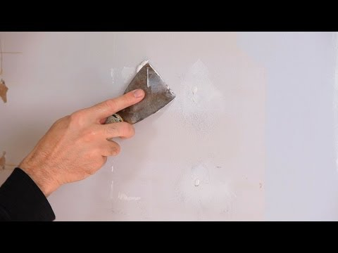 How to Fix Small Holes | Drywall Repair