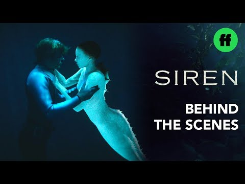 Siren: Behind The Scenes | Intimate Underwater Moment Visual Effects | Freeform