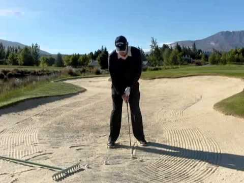 GOLF LESSONS – How to get out of a Golf Bunker , the easy way