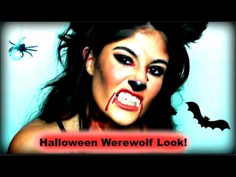 Halloween Werewolf Makeup Tutorial | ZoeTeVe