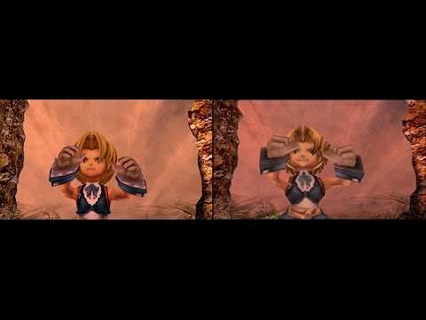 Final Fantasy IX - PC trailer/Emulation comparison
