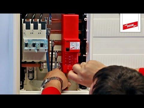 Überspannungsschutz nach DIN VDE 0100-443/534 einbauen