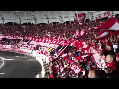 Yo te sigo hasta el final - Barón Rojo Sur - L.H.D.L.C - Deporaguablanca vs América - Baron Rojo Sur - América de Cáli