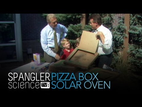 Pizza Box Solarer Ofen- Coole Wissenschaftliche Experimente