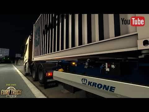 Krone container 2x20ft v1.0