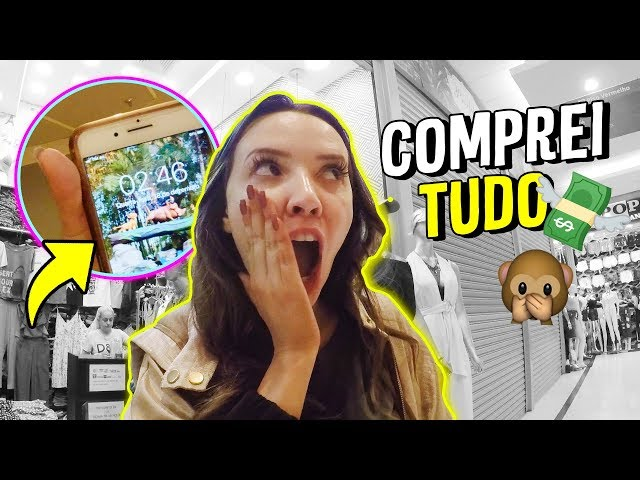 COMPRAS NA FEIRA DA MADRUGADA - Taciele Alcolea