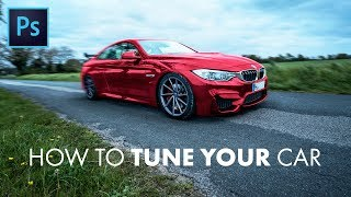 Tune YOUR car with this Photoshop tutorial! Lower the car, change the rims, color, add parts (spoiler, bodykits, etc.). It doesn't matter if you want to see how your possible future car looks like or if you want to tune it just for fun, here you are right. Learn all necessary techniques, tips & tricks to successfully tune your car the way you want it to look.I hope you enjoy this tutorial,ArmaganVideos.FOLLOW US:➜ Facebook (Downloads, Announcements): https://www.facebook.com/armaganvideos/➜ Instagram (BTS, Giveaways): https://www.instagram.com/armaganvideos/➜ Twitter (Chat, News, Polls): https://twitter.com/armaganvideosWEBSITE FOR ORDERS (logos, motion graphics, etc.):➜ http://www.armaganvideos.com/OUR 5-HOUR UDEMY COURSE ABOUT FLAT DESIGN:➜ https://www.udemy.com/flat-design-one-page-website-with-photoshop-and-illustrator/TIME MARKERS:➜ Intro/Explanation 0:00 - 0:43➜ Lowering the car 0:43 - 4:35➜ Changing rims 4:35 - 12:10➜ Changing color 12:10 - 16:31➜ Addings parts 16:31 - 20:40➜ Fine details 20:40 - 23:53➜ Outro 23:53 - 24:12FREE DOWNLOADS (this tutorials images [BMW M4, rims]):➜ https://www.facebook.com/armaganvideos/app/208195102528120/LINKS TO LEARN THE PEN TOOL (like games):➜ http://bezier.method.ac/➜ https://helpx.adobe.com/illustrator/how-to/pen-tool-game.htmlTutorial and music made by ArmaganVideos ©2017.
