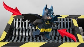 Experiment Shredding Lego Batman And Toys  The Crusher