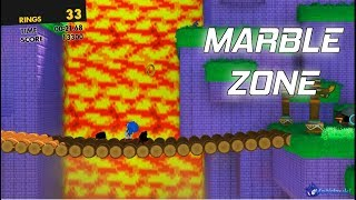 Marble zone over Green Hill | Sonic Forces Mods ⮚ Walkthrough