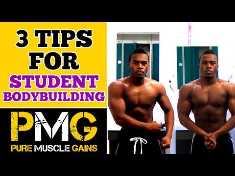 Student Bodybuilding Tips | 3 Quick Overlooked Tips for Beginners
