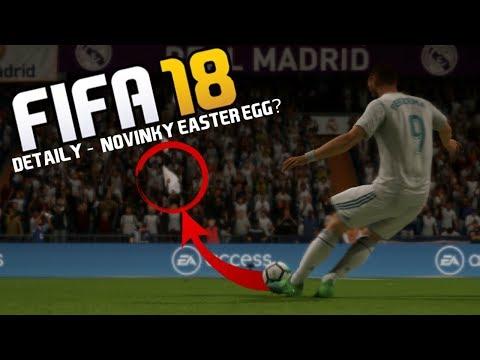FIFA 18 - 10 DETAILŮ A NOVINEK, KTERÉ JSTE PŘEHLÉDLI!