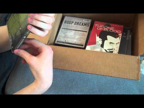 Criterion Haul DVD Unboxing (B&N 50% Off Sale) - August 20, 2012