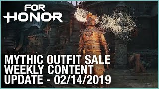 For Honor: Mythic Outfit Sale | Week 02/14/2019 | Weekly Content Update | Ubisoft [NA] by Ubisoft