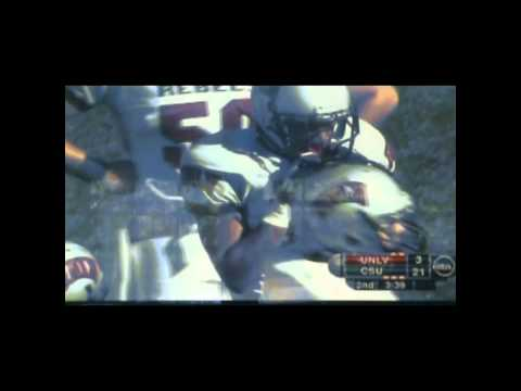 Mike Orakpo big hit vs UNLV 2010 video.