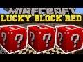 Minecraft: RED LUCKY BLOCK MOD (MORE LUCKY VILLAGERS, LUCKY WELLS, & BLOCK TOWERS!) Mod Showcase