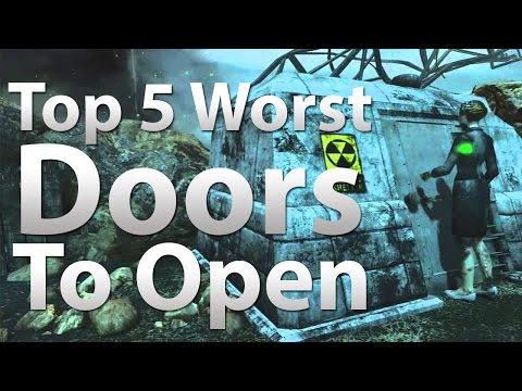 TOP 5 Worst Doors To Open in 'Call of Duty Zombies' - Black Ops 2 Zombies, BO & WaW