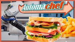 AUTOMACHEF Gameplay • Chicken & Fries   Küchen Automatisierung Simulator #4