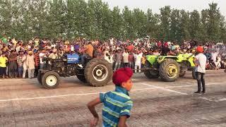 Tractor tochan mukabla pind Dhugga kalan