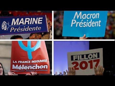 Γαλλικές εκλογές: Αγώνας δρόμου για τέσσερις ο δεύτερος γύρος