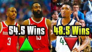 Video 7 NBA Vegas Win Total Predictions That MAKE NO SENSE MP3, 3GP, MP4, WEBM, AVI, FLV November 2018