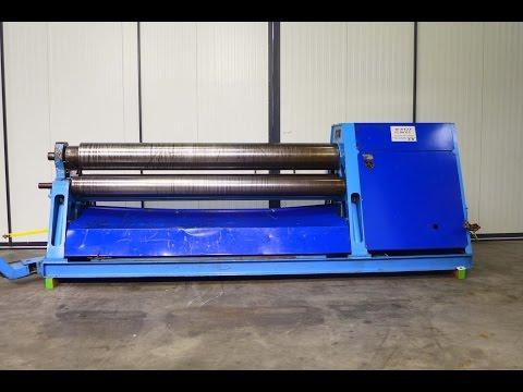 4-Walzen-Blecheinrollmaschine DAVI MCB 3034 1997