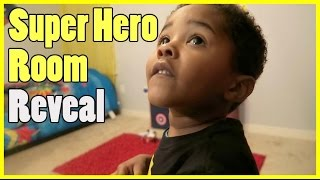 Super Hero Room Reveal - YouTube