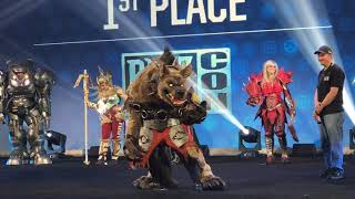 Blizzard Cosplay Costume Contest at Blizzcon Arena 2017
