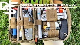 My 187 Piece EDC Pocket Organizer Survival Kit